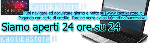 Aperti 24h su 24h - Acquista on-line dal PC, da tablet o telefonino!