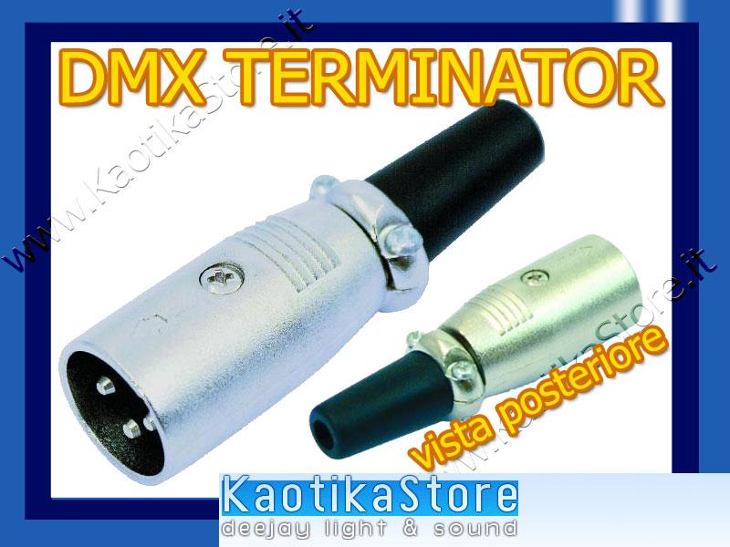 Terminator dmx 120 ohm terminatore centralina dmx luci - Specchi riflessi karaoke ...