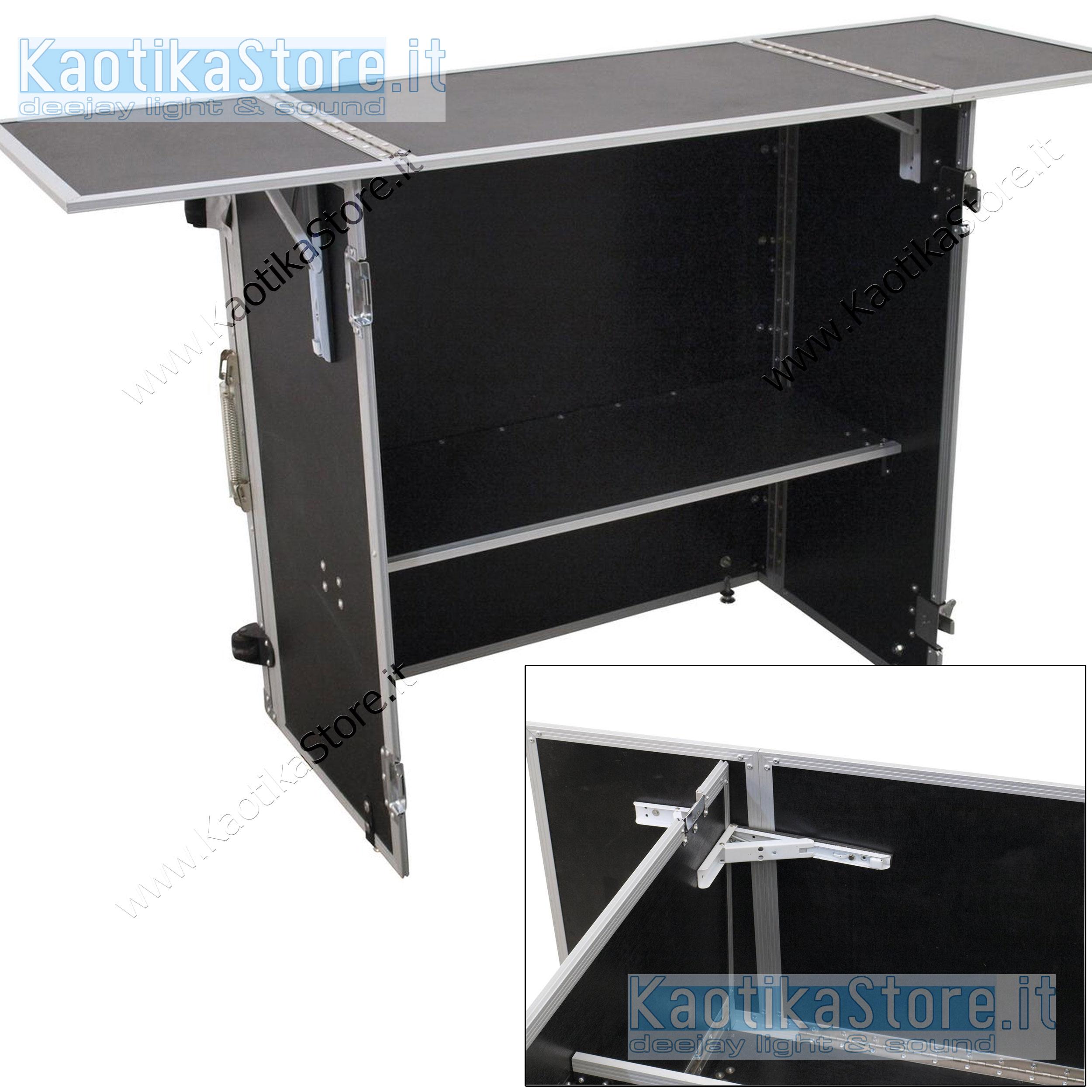 Tavolino apribile trasporto stand dj banco da lavoro - Tavolo matto porto potenza ...