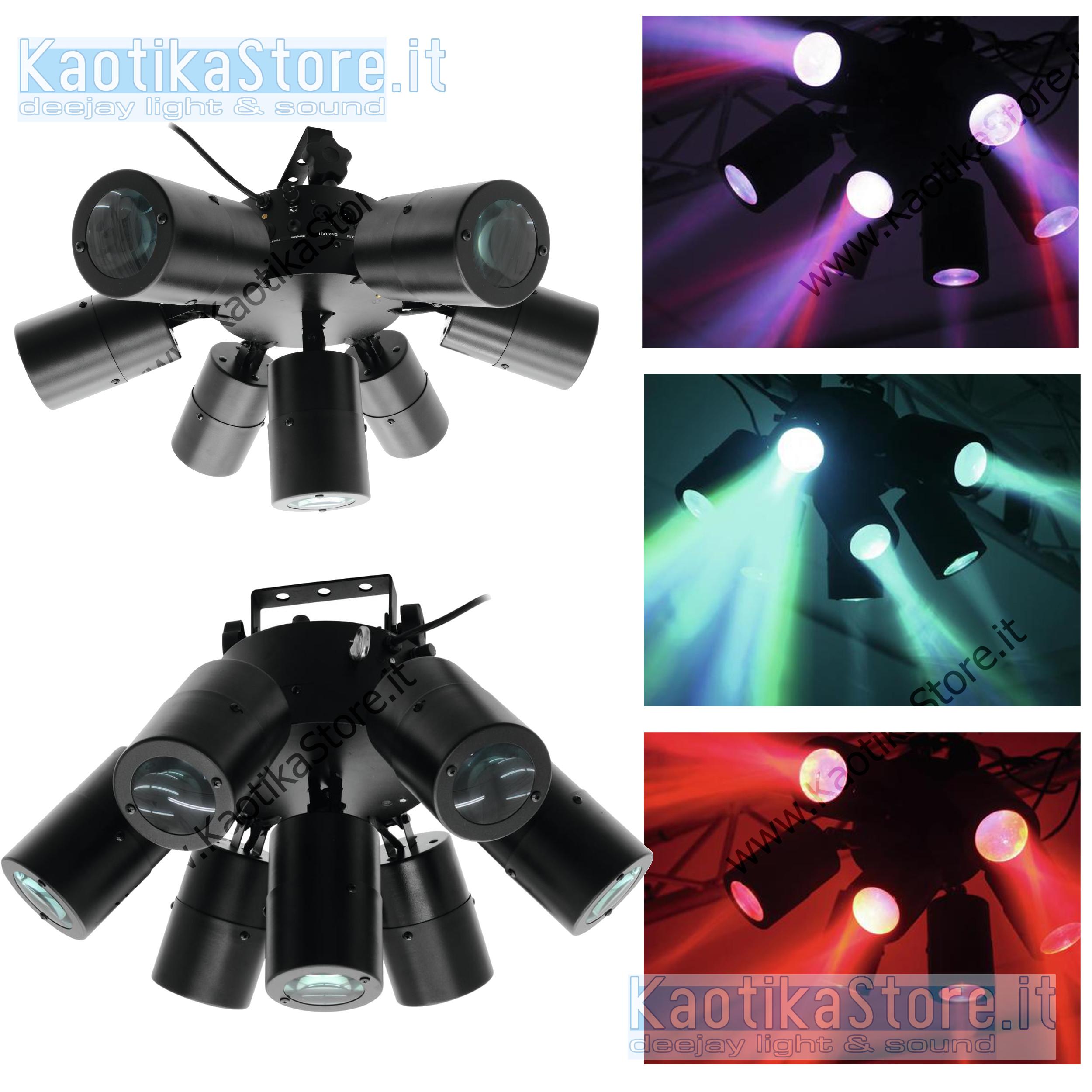 Eurolite led svf-1 flower effect 51918662 compact led flower effect