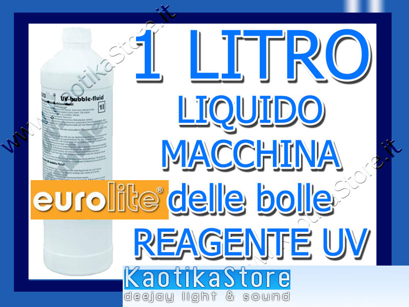 1l liquido rosso bolle sapone liquido x lampada uv reagente wood kaotikastore ebay - Specchi riflessi karaoke ...