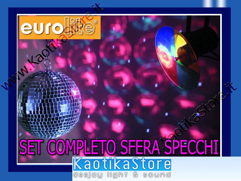 Semi sfera specchi 40cm palla specchiata luce discoteca disco 39 70 kaotikastore ebay - Specchi riflessi karaoke ...