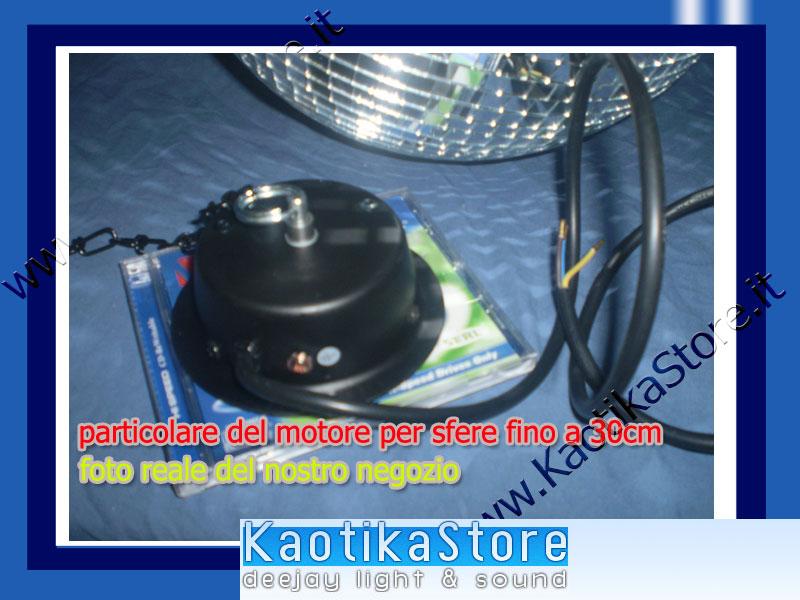 Sfera specchi 30cm specchiata palla luci decorazione - Specchi riflessi karaoke ...