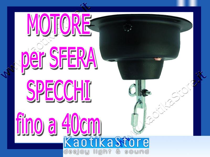 Motore per sfera specchiata 40cm palla luci discoteca specchietti kaotikastore ebay - Specchi riflessi karaoke ...