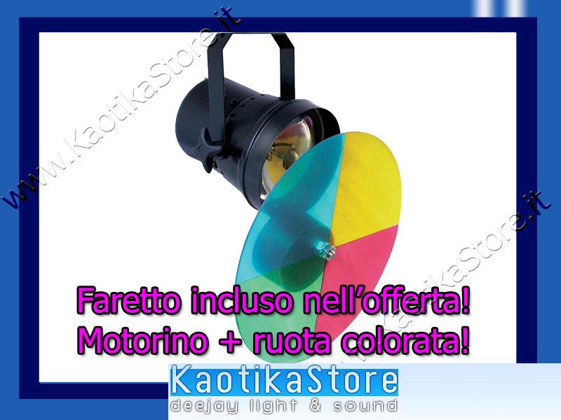 Palla sfera specchi 20cm motore faretto par36 ruota colori dj kaotikastore ebay - Specchi riflessi karaoke ...
