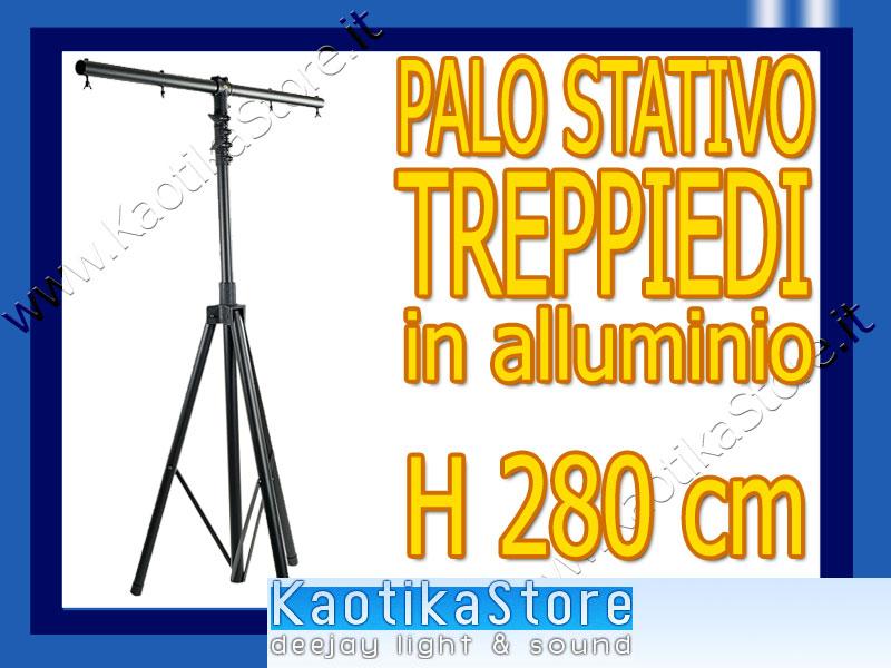 Treppiede stativo palo per supporto luci luce strobo x dj - Specchi riflessi karaoke ...