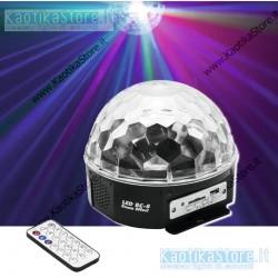 Eurolite BC-8 sfera effetto luce LED con MP3 player