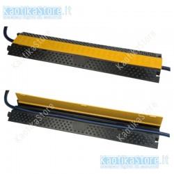 Showtec pedana passacavo 2 sezioni cavo ponte 2/100 cm, con 2 linee