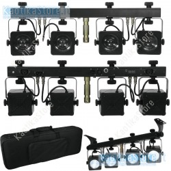 EUROLITE LED KLS-10 Compact light set LED BIANCHI