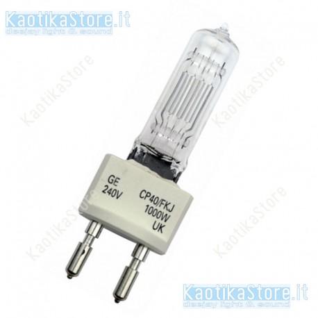GE G22 240V/100W GY-9.5 250h lampada ricambio