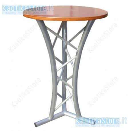 Showtec tavolino robusto realizzato in traliccio triangolare arredamento