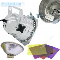 Eurolite Faro corto PAR-56 incluso lampada 300W e set gelatina colorata par56 discoteca teatro palco dj
