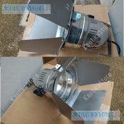 Eurolite Faro corto PAR-56 con aletta taglialuce incluso lampada 300W
