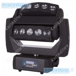 Sagitter Testa mobile B-Ray pixel control 2x5 beam led White