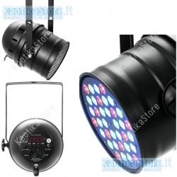 EUROLITE LED PAR-64 RGB 36x3W faro dmx cambiacolori professionale