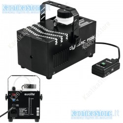Eurolite Dynamic Fog 600 Fog machine 600w macchina del fumo controllo remoto via filo