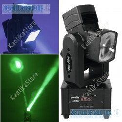 Eurolite 50944301 LED MFX-1 Beam Effect testa mobile DMX moving head ean 4026397571493 proiettore lampada per feste dj luci disc