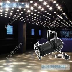 Faro PAR-30 per lampada 75w faretto nero