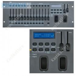 Centralina DMX Showtec SM-16/2 controller luci banco regia effetti luce scanner testa mobile