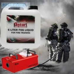 Antari FLP Fog Liquid 6 liter tanica 6 litri di liquido formazione antincendio professionale alta densità prove formazione