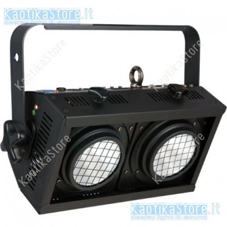 Accecatore Showtec LED Blinder 2x50W illuminatore 2 posti fari palco live