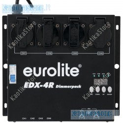 Eurolite EDX-4R DMX RDM Dimmer pack centralina luci fari PAR faro teatrale