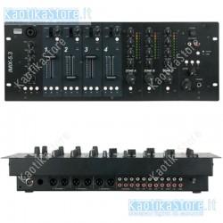 Dap Audio IMIX-5.3 mixer installazione 4U 5 canali 3 zone miicrofonico adatto karaoke piano bar band locali pubblici