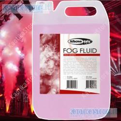 Showtec Tanica 5 litri di liquido Professional ALTA DENSITA' per macchina del fumo fog machine smoke fluid