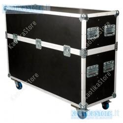 Dap Audio Flightcase per trasporto di TV plasma led lcd con ruote