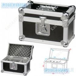 Dap Audio Flightcase per trasporto di 6 microfoni valigetta porta palmare Pro Case for 6 mics