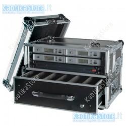 Dap Audio Wireless Microphone Case 1 flightcase per trasporto di microfoni senza filo wireless