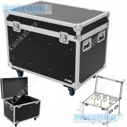 ROADINGER Flightcase per il trasporto di merce 900x600x780 mm fornito di ruote per agevole spostamento