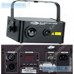 Showtec Bluestar MKII DMX laser ad effetto simulazione cielo notturno