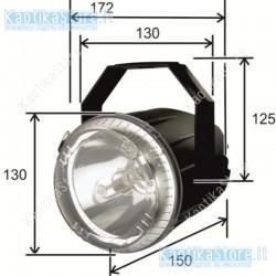 Showtec Mini Q-strobe 50W strobo lampada stroboscopica compatta