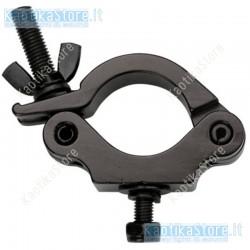 Showtec gancio accoppiatore 50mm Half Coupler per supporto luci tubo 50mm per attacco fari discoteca