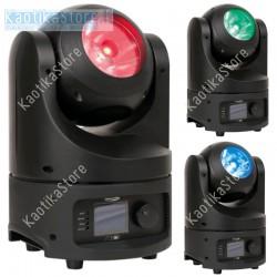 Showtec 43053 Saber Moving Head beam luci discoteca testa rotante DMX mobile RGBW led ean 8717748398130 testa motorizzata automa