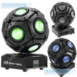 Eurolite effetto luce MGX-7 LED beam sfera Beam Moving Ball con 15 W QCLs