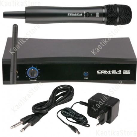 DAP Audio COM-2.4 Microfono Wireless 2.4GHz  Banda libera internazionale ISM