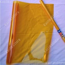 Gelatina DEEP AMBER 61x50cm colore per fari PAR filtri colorati foglio colorato giallo ambra profondo