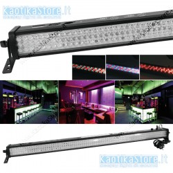 EUROLITE LED Bar 252 RGB 10mm 20° barra illuminazione soffitto parete muro