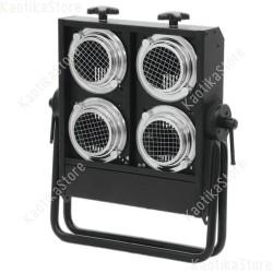 Accecatore 2600W illuminatore 4xPAR36 650W 120V fari palco live colore chassis nero