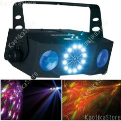Showtec X-Terminator 3-in-1 luce led + laser + strobo