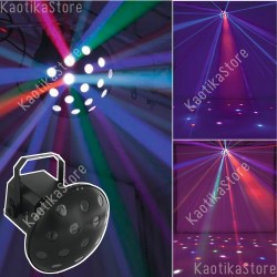 Eurolite Z-1000 Beam effect 6x3W LED RGBAWP effetto luce discoteca a fasci luminosi