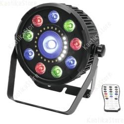 Eurolite LED SLS-9 Hybrid HCL spot multifunzione strobo RGBW + UV