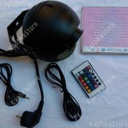 Eurolite H2o LED 9W IR faretto con telecomando