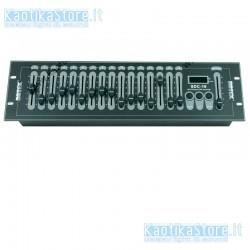 Centralina Botex SDC-16 DMX 16 canali manuali scanner controller semplificato per settaggio fari DMX