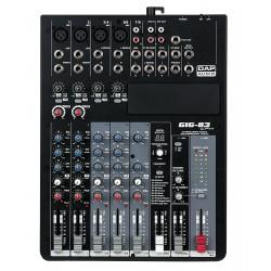 Dap Audio GIG-83CFX Mixer live a 8 canali, comprensivo di dinamiche e DSP