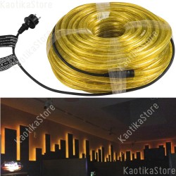 Eurolite Tubo luminoso 44 metri colore giallo per esterni e interni