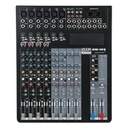 Dap Audio GIG-124C Mixer live a 12 canali, comprensivo di dinamiche