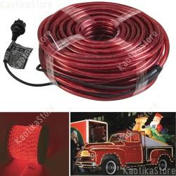 Eurolite Tubo luminoso 44 metri colore rosso per esterni e interni